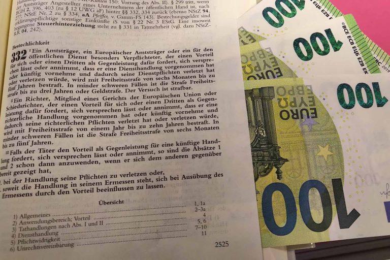 Korruptionsstrafrecht: Bestechung & Bestechlichkeit